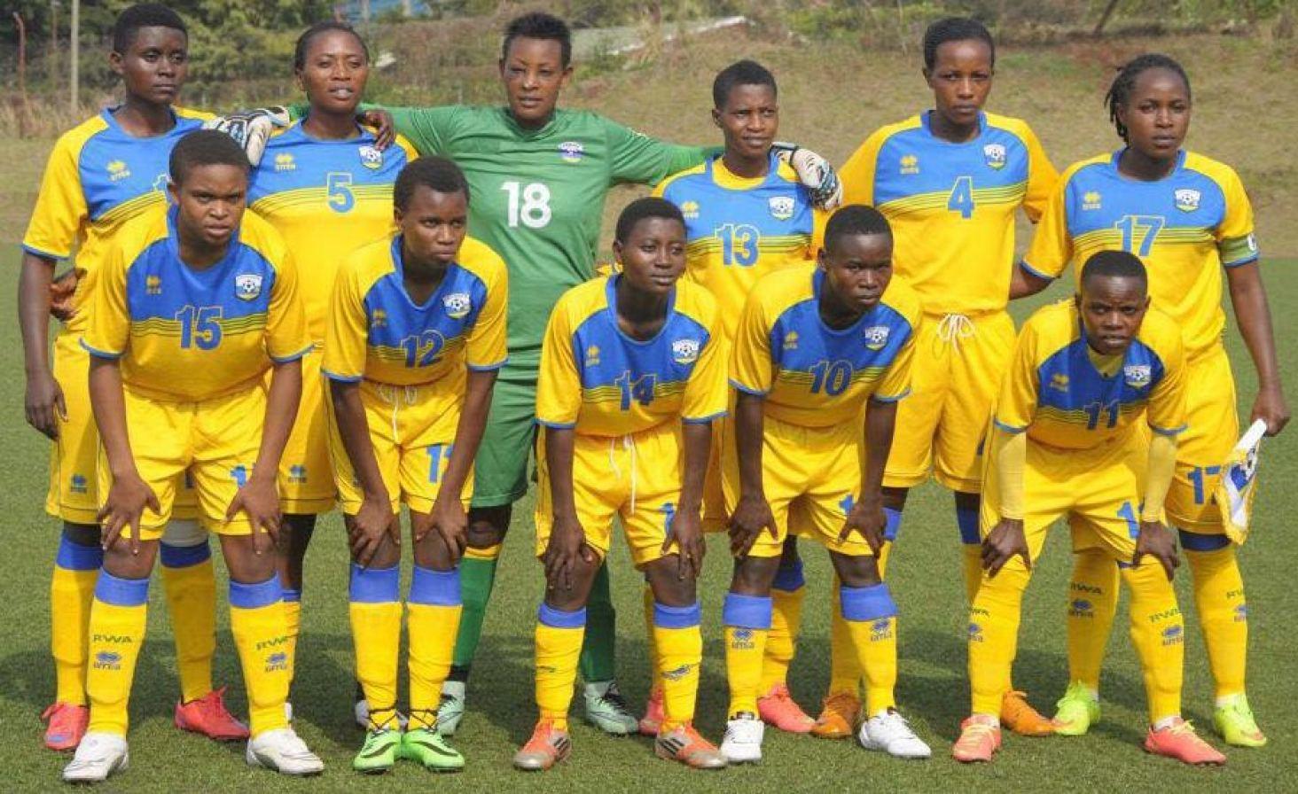 rwanda female football