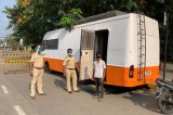 Bollywood 'Vanity Vans' Aid Indian Policewomen On COVID-19 Duty