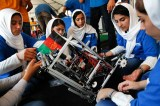 With Bike Chains And Car Parts, Afghan Girls Build Ventilators