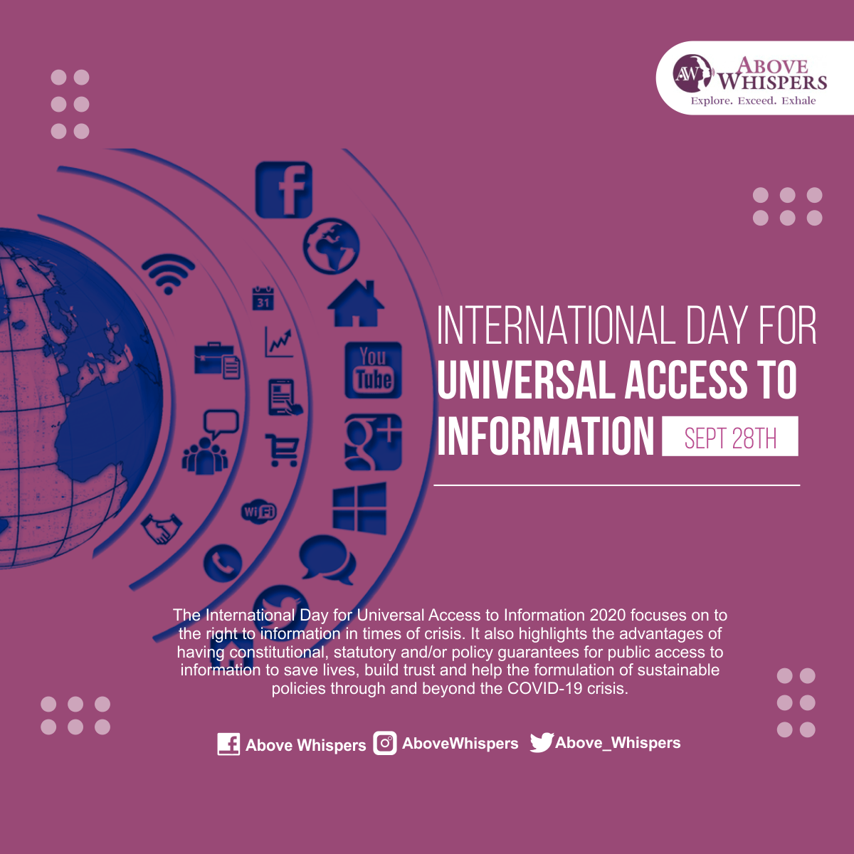 International Day For access to information 2