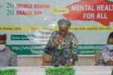 World Mental Health Day: Fayemi's Wife Canvases For institutional Framework For Tackling Mental Health Issues