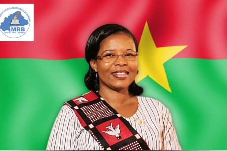 Yeli Monique Kam The Only Woman Candidate For BurkinaFaso Presidency