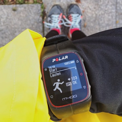 Laufen + GPS