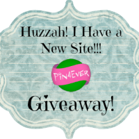 Huzzah! I Have a New Site Pin4Ever Giveaway!