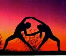 Partner+yoga