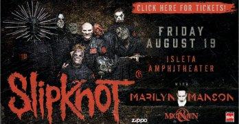 Slipknot & Marilyn Manson at Isleta Ampitheater Aug 19th