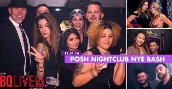 NYE party at Posh Nightclub