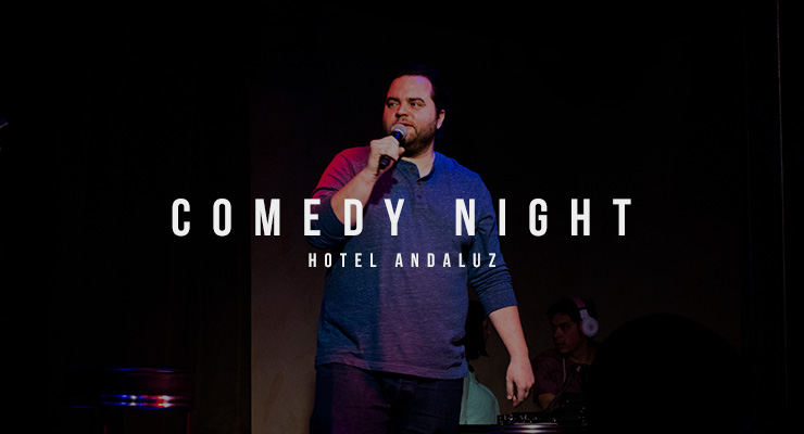 STAND UP: Comedy night at Casablanca inside Hotel Andaluz
