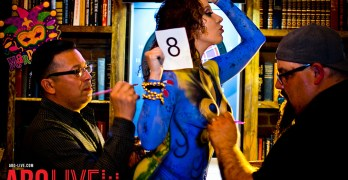 Mardi Gras & Body Painting Contest at The LIBRARY Bar Downtown – Gallery 2