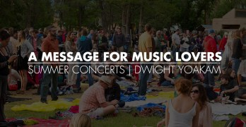 A Message For Music Lovers