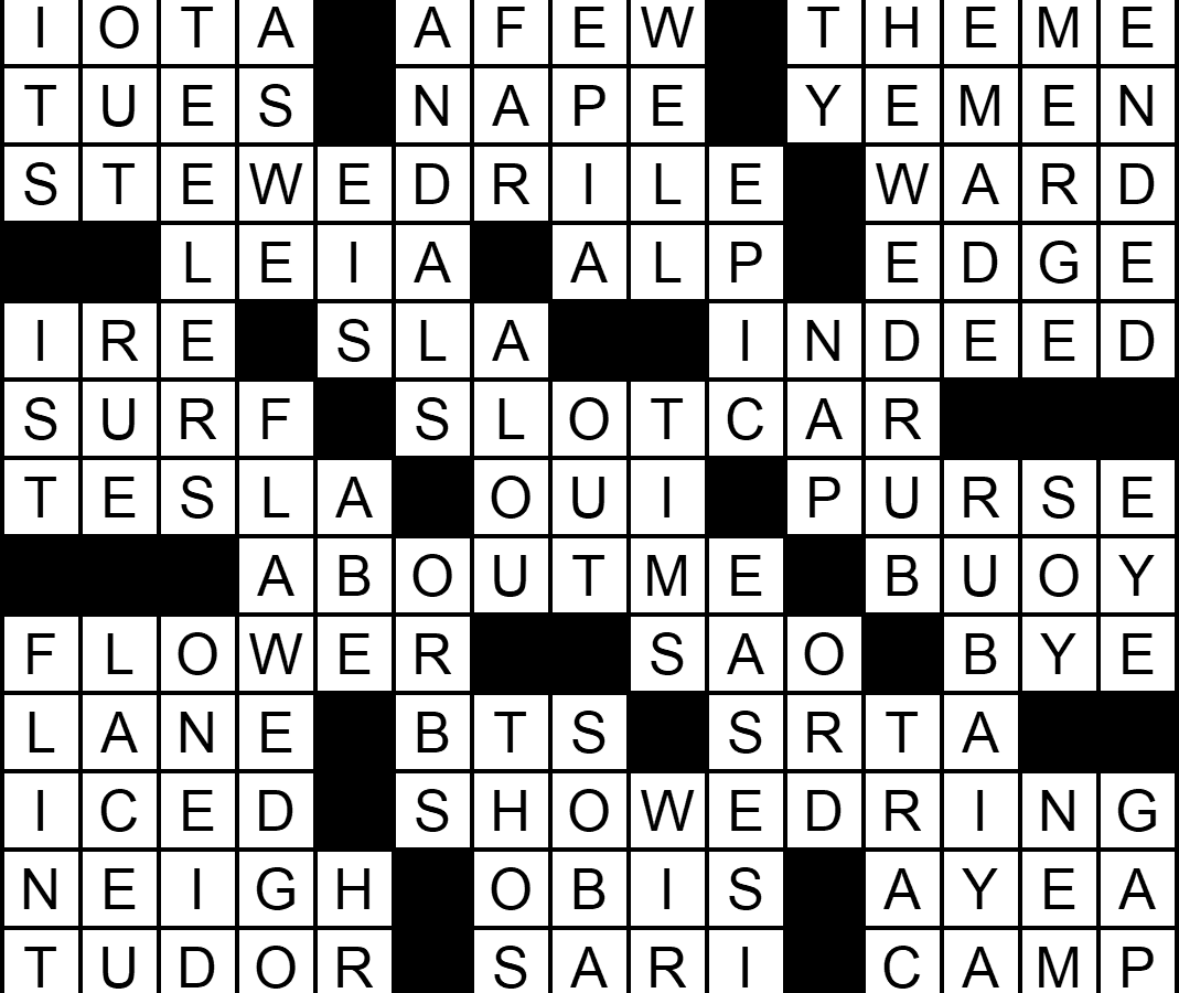 """""""Get It Together"""" crossword answers"""