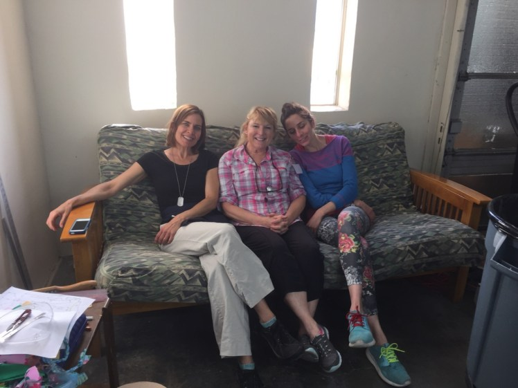 Margaret, Stephanie and Brianna