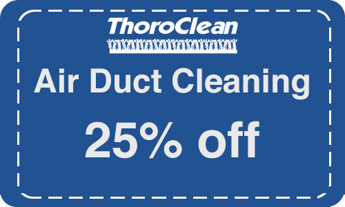 Air duct cleaning coupon by Thoroclean