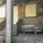 Abracadabra Decor Vigo Home Staging decora para alquiler vacacional - terraza antes