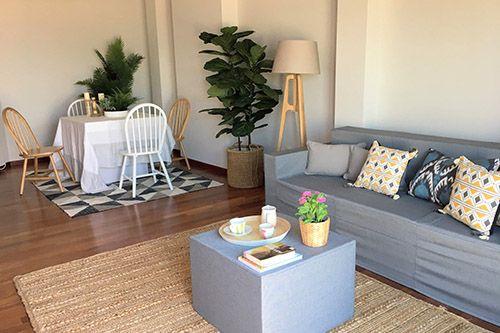 Abracadabra Decor Vigo Home Staging decora con muebles de cartón
