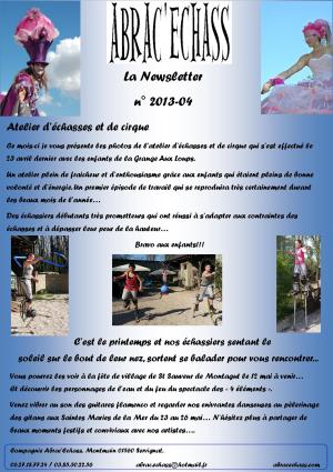 newsletter n° 2013-04