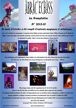 newsletter n° 2013-10