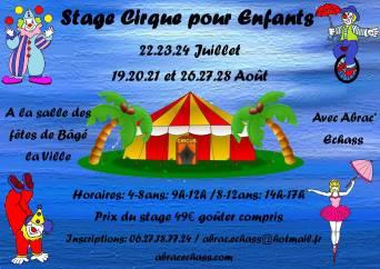 stage cirque enfants bage la ville jonglerie macon 01 acrobatie 71 equilibre ludique creatif