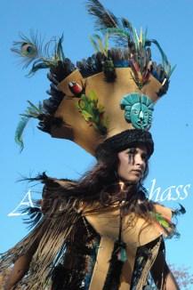 4 elements echassiers eau terre air feu sirene elfe maya cracheur de feu parade animation spectacle carnaval magique colores (23)