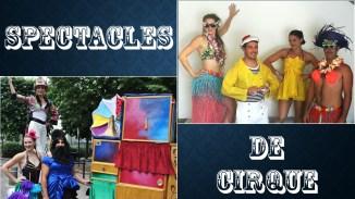 spectacles de cirque evenementiel animation