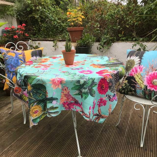 Diana Wilson tablecloth