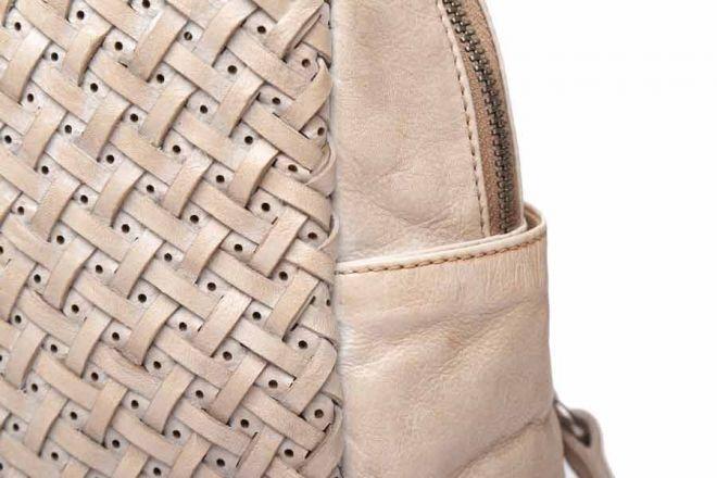 Abbacino Beige leather Hobo bag