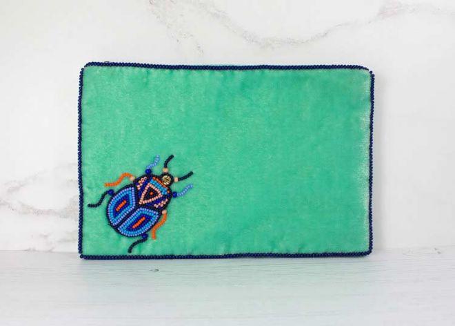 My Doris Beetle bag green large