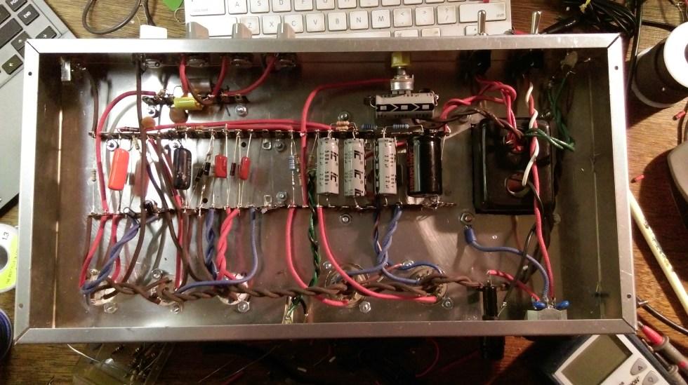6L6GC amp guts
