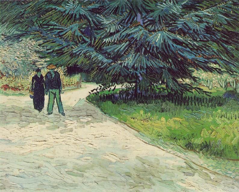 Vincent Van Gogh - O Jardim do Poeta, Outubro de 1888