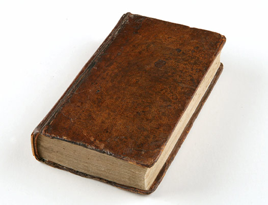 Darwin's Bible from the Beagle voyage
