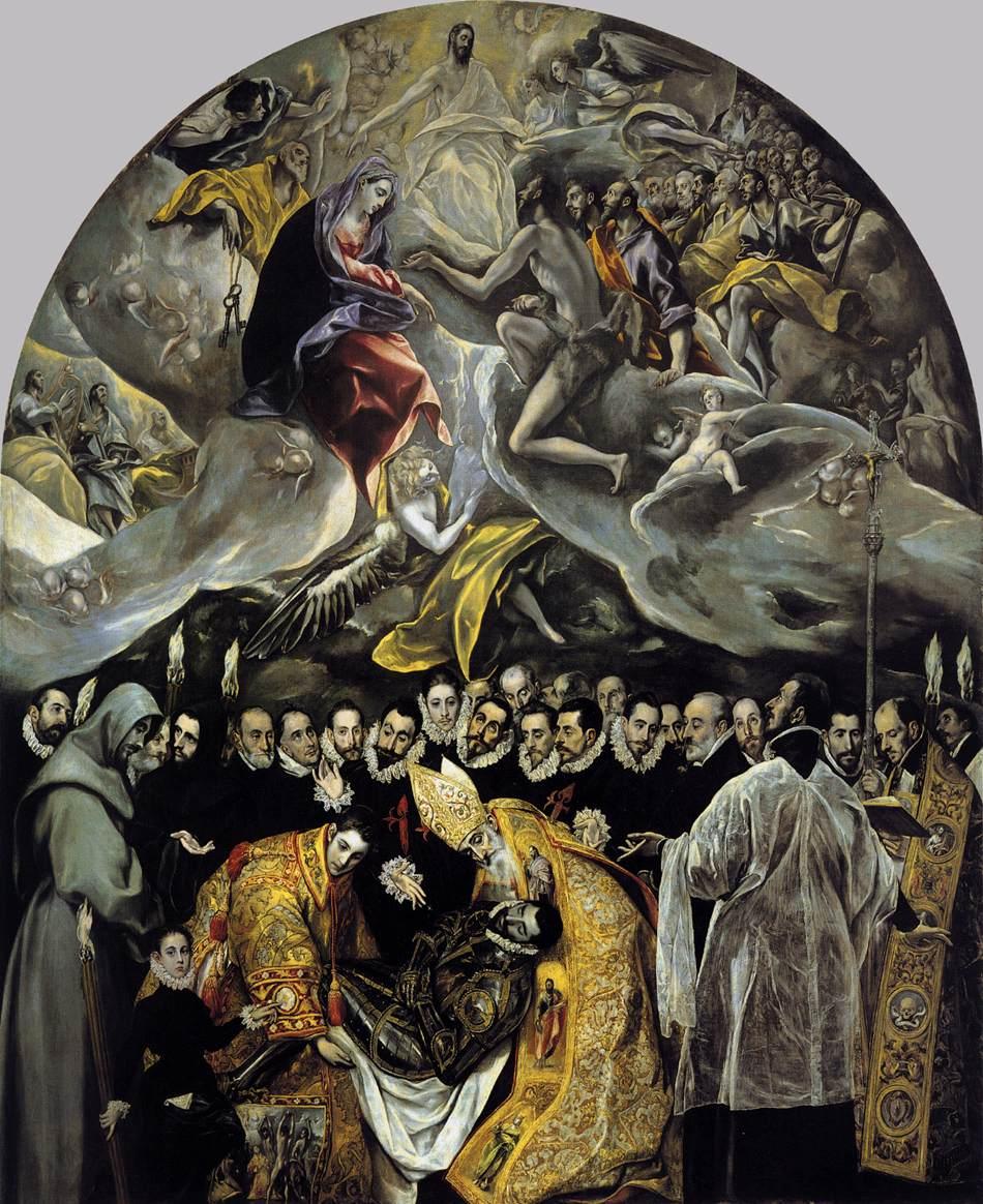 O enterro do senhor de Orgaz - El Greco - 1586