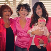 Three generations of beautiful girls