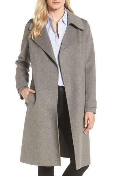 gray coat