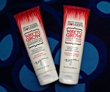 Not Your Mother's Way to Grow Long & Strong Shampoo and Conditioner