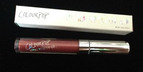 ColourPop Ultra Metallic Lip in Kween