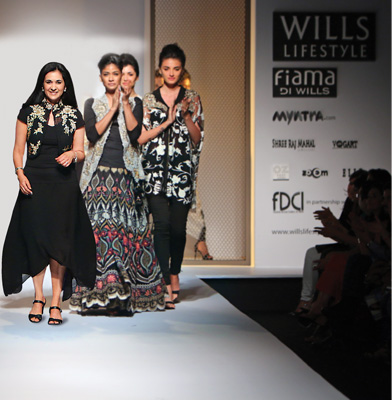 The Charismatic Indian Fashion Designer - Kavita Bhartia