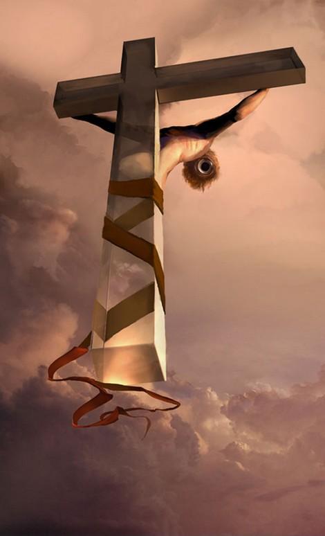 """""""Crucifixion"""" by Christina Neofotistou"""
