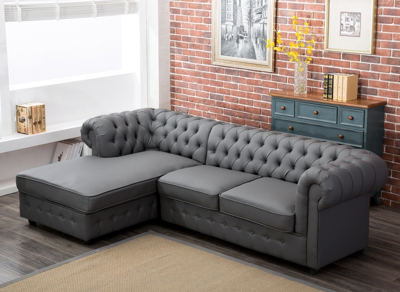 Furniture Living Room Leather