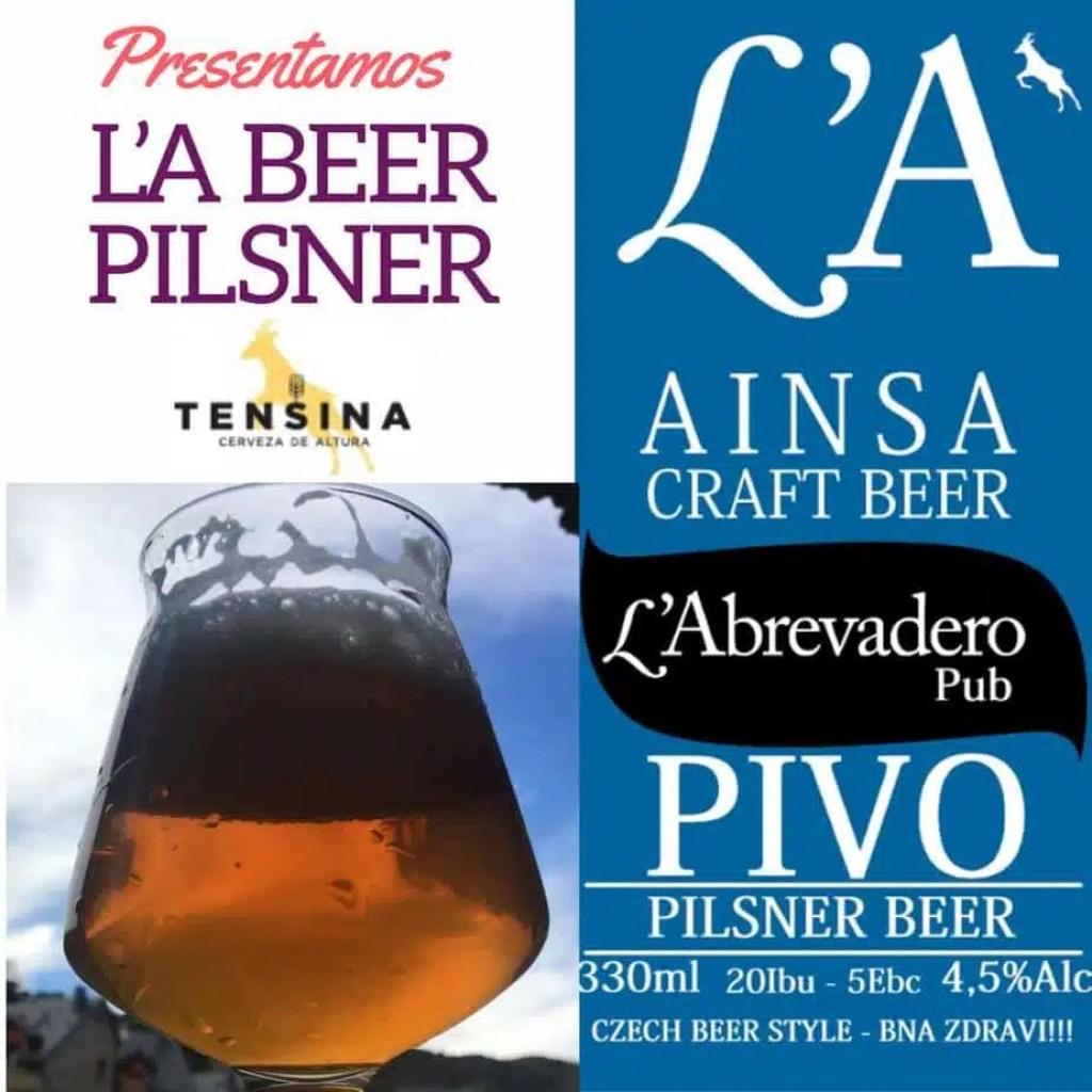 L'A Beer Ainsa Pils