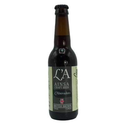 Cerveza LA Beer Ainsa British Brown
