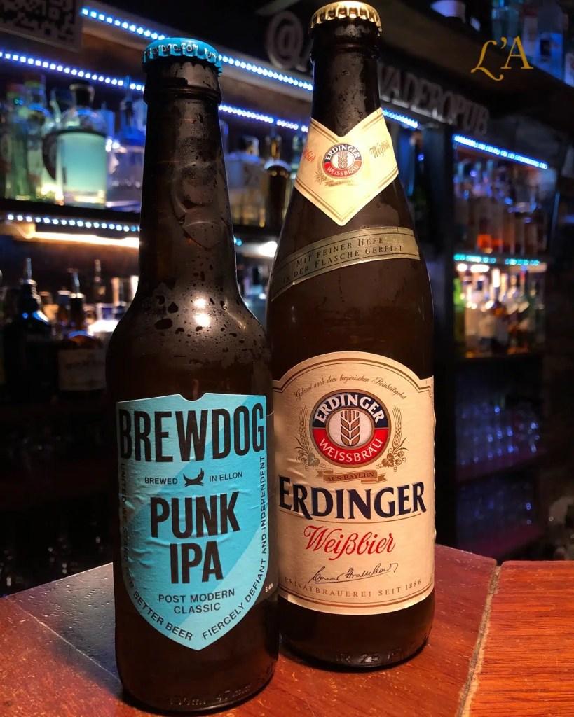 Brewdog Punk IPA & Erdinger Trigo
