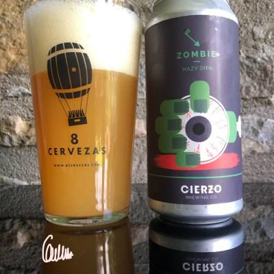 Zombie HAZY DIPA by Cierzo Brewing