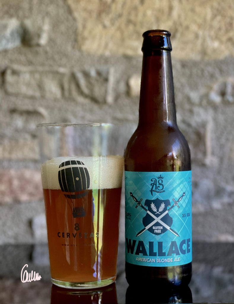 AS WALLACE AMERICAN BLONDE ALE
