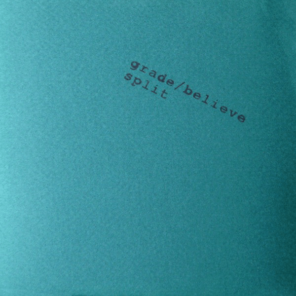 WR-001 Grade/Believe split CD, 1994. Blue cover