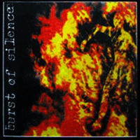 "Artwork of what would have been Burst of Silence's full-length album ""Burning"" in 1994"