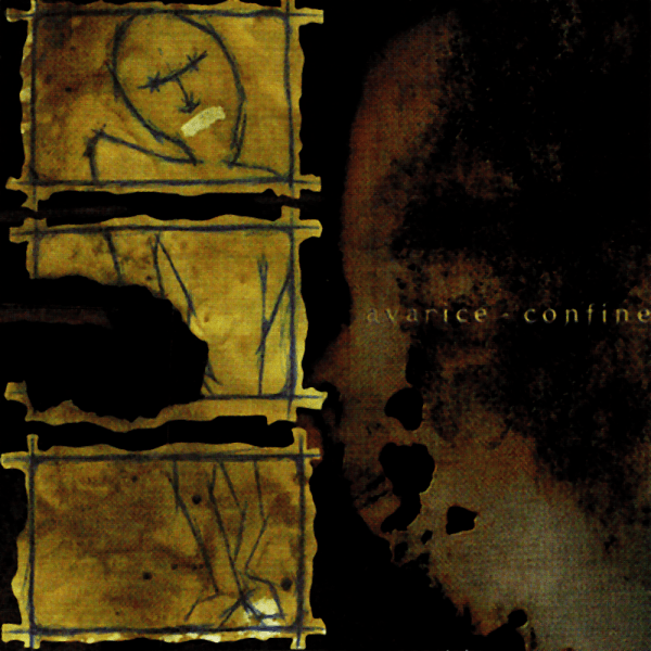 Avarice and Confine split, Redstar Records, summer 1998