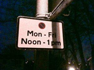 Parking Restriction Notice