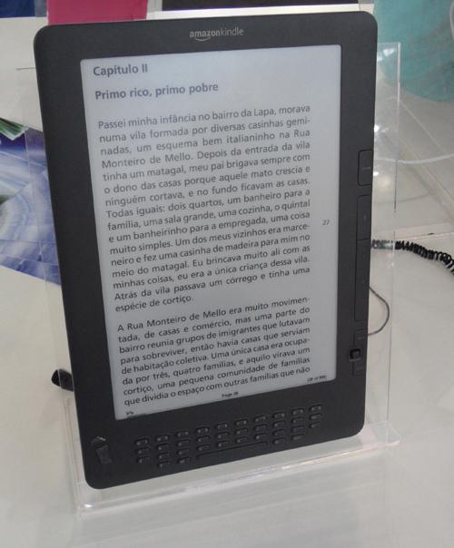 eReaders no Brasil: Novidades (2/6)