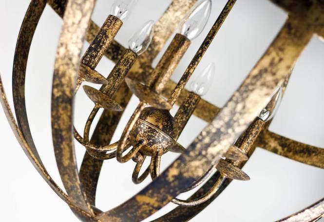 Villaverde London Galileo Metal Chandelier Gallery 01