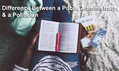 Difference Between a Public Administrator and a Politician